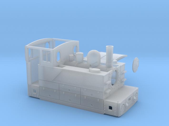 CdN 030-T Blanc-Misseron, series 4-17 - 1:87 3d printed
