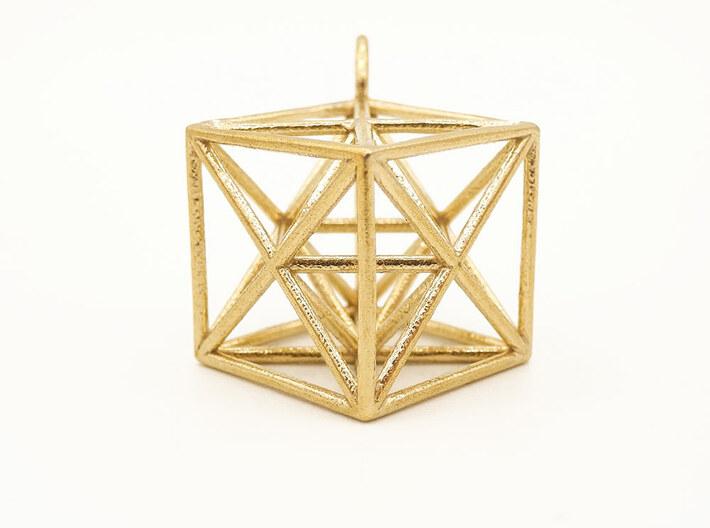 Metatron's Cube Hanger 3d printed Metatron's Cube pendant | BewustDsign