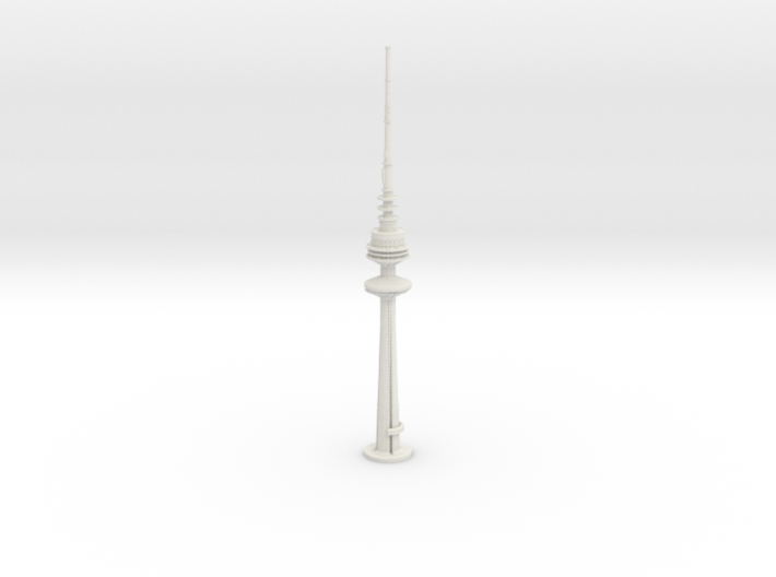 Liberation Tower (1:2000) 3d printed