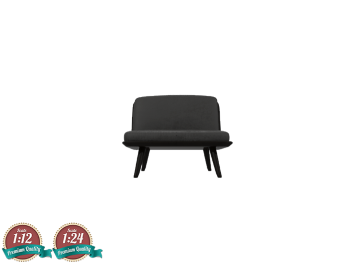 Miniature Spine Lounge 1 Seater - Fredericia 3d printed Miniature Spine Lounge 1 Seater - Fredericia
