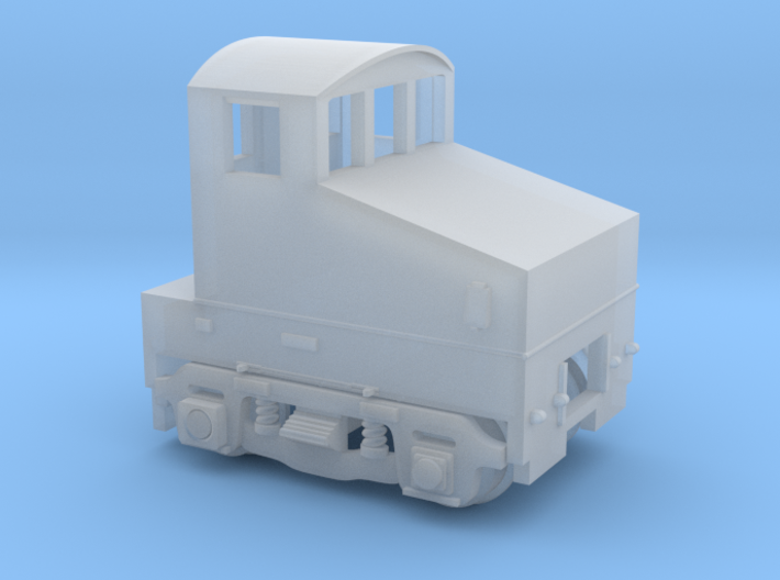 Milwaukee Road Shop Goat 3d printed
