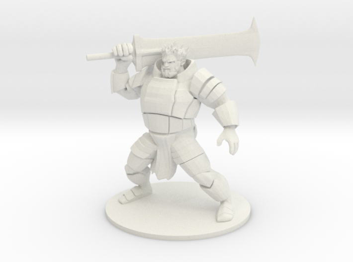 Fire Giant 3d printed
