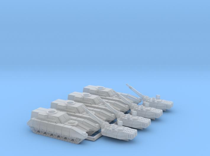 6mm Mobile Artillery (4) 3d printed