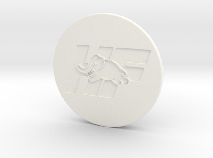 OZ center cap Nabendeckel - HF Logo 3d printed