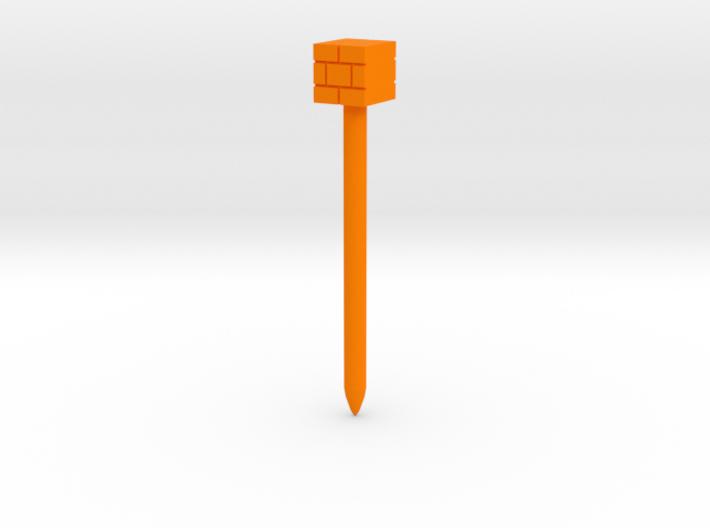 Brick Block stylus 3d printed