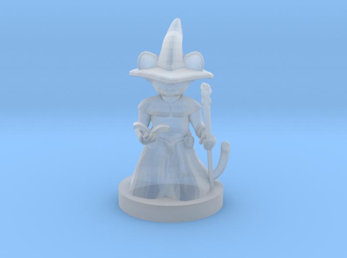 Mousefolk Mage 3d printed