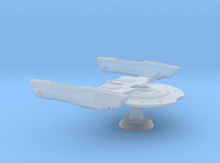 Terran Falcon Class Fast Frigate-1:7000 3d printed