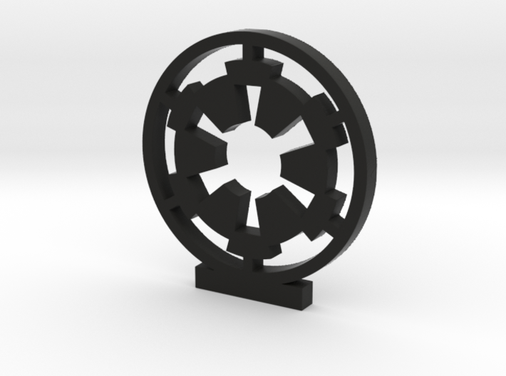 Galactic Empire Logo 3d printed