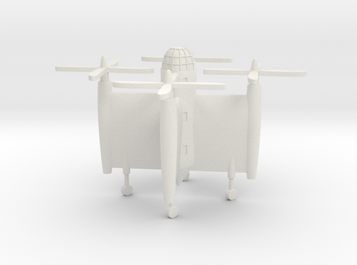 (1:285) Bratukhin Transport VTOL Aircraft 3d printed