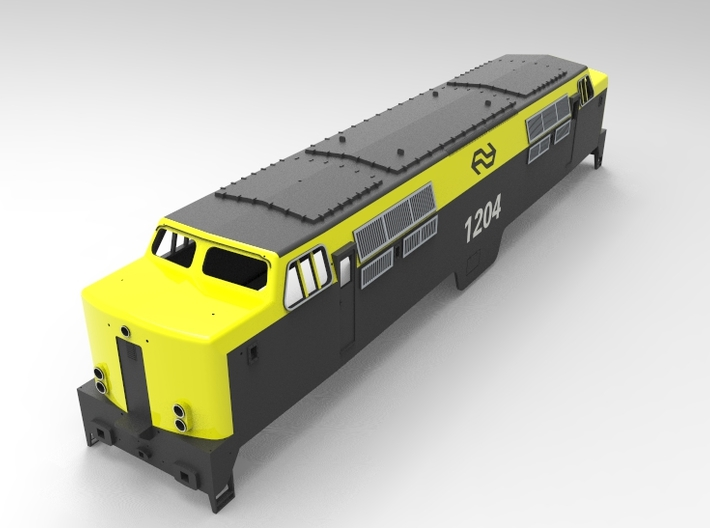NS 1200  (scale 1: 45) 3d printed