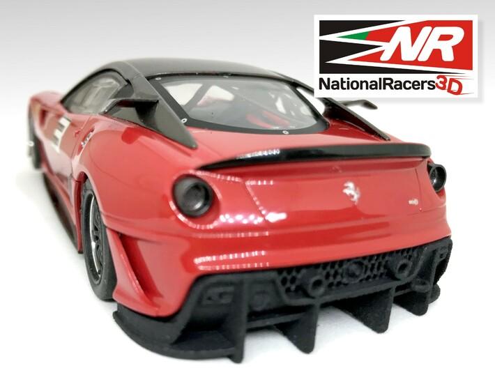 3D Chassis - Carrera Ferrari 599XX (Combo) 3d printed