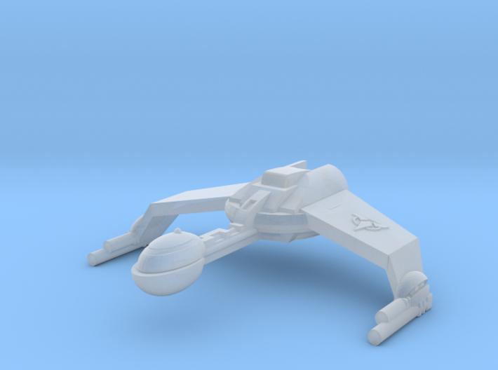IKS Gunboat 3d printed