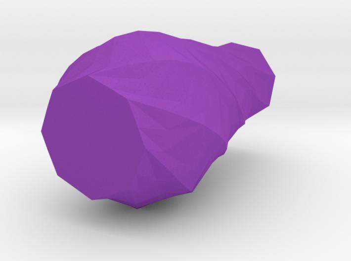 Spiral Low Poly Vase 3d printed