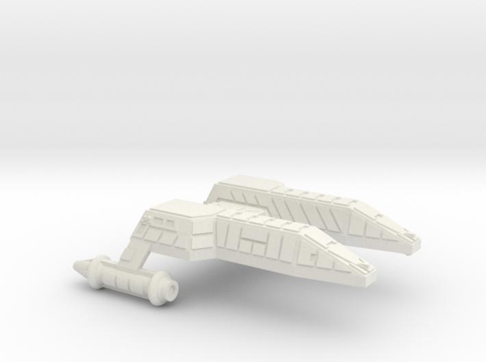 3788 Scale Lyran Refitted Leopard Destroyer (DD) 3d printed