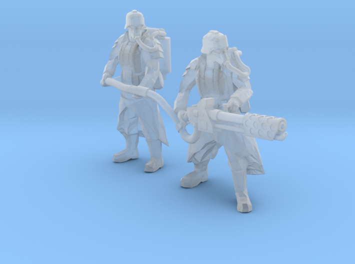 Army of the Trench Flame crew 3d printed