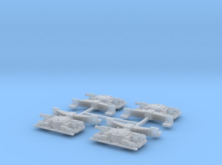 Aspot Oersik Spoor 1 set van 4 3d printed