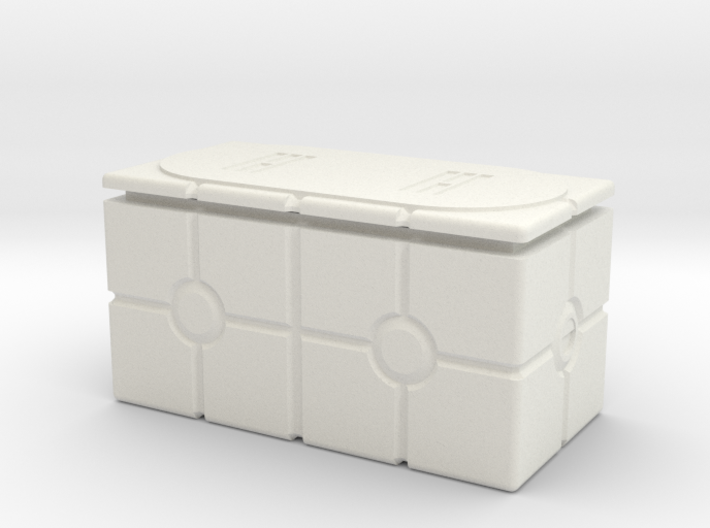 Imperial Crate 3 (2 Parts) 3d printed