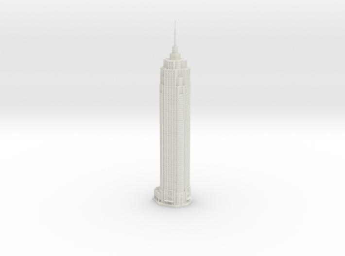 The Pinnacle (1:2000) 3d printed