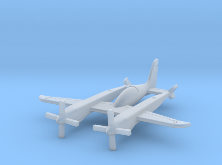 (1:285) Scaled Composites Pond Racer 3d printed