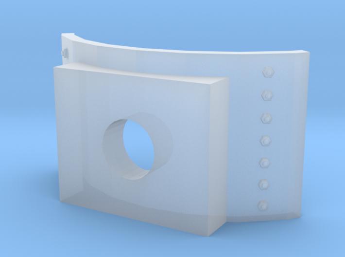 Boiler Lowering Cylinder Saddle for MDC HOn3 Kits 3d printed