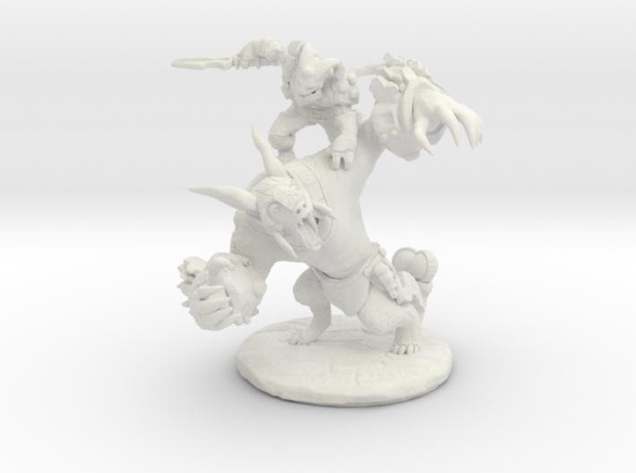 Ursa VS Riki 3d printed