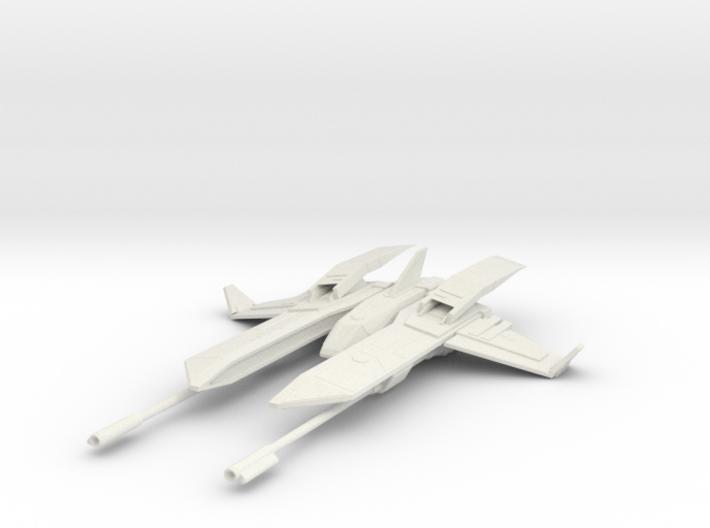 Warhawk Fighter 3d printed