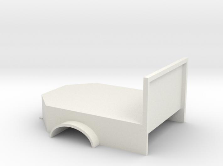 Flatbed welding base 3d printed