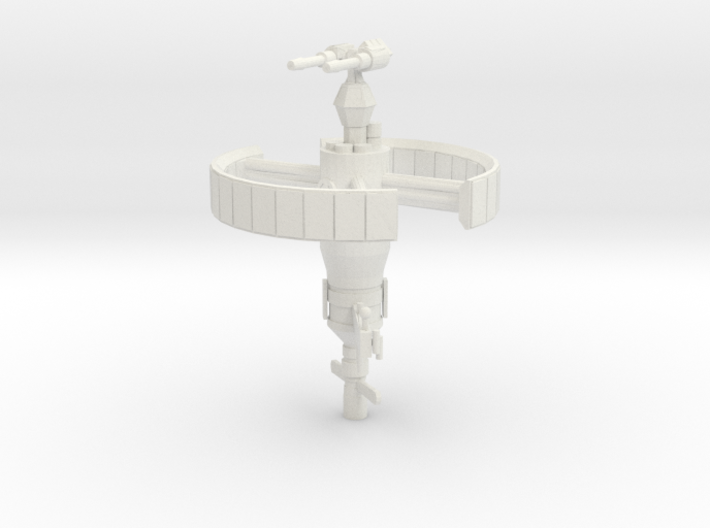 Derelict-Beacon Shielded Double-Laser / Ion Turret 3d printed
