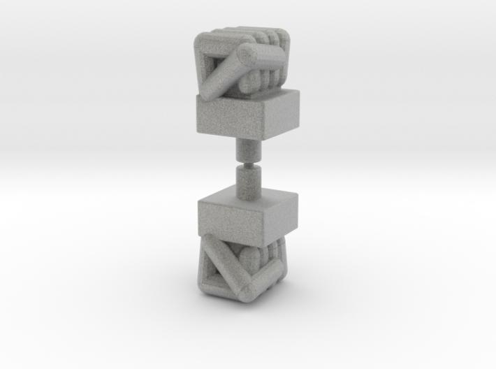 Micronauts Biotron Bopper Fists 3d printed