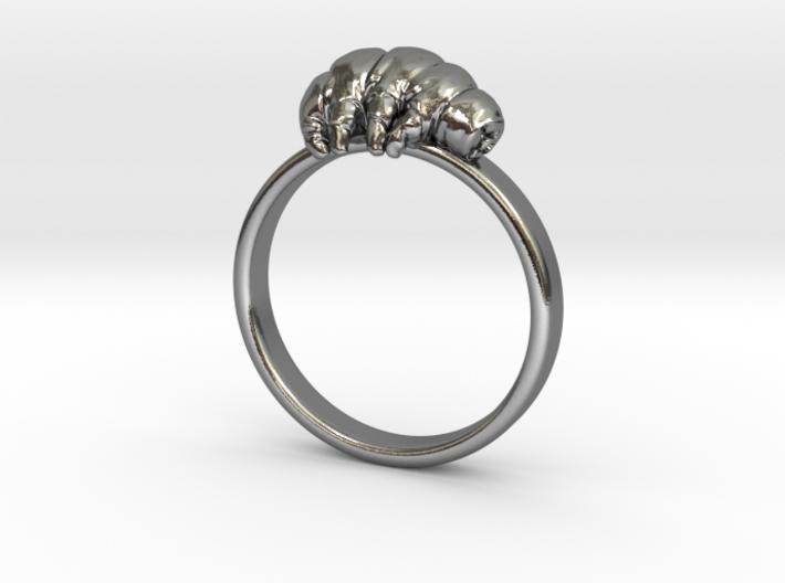 Tardigrade ring 3d printed