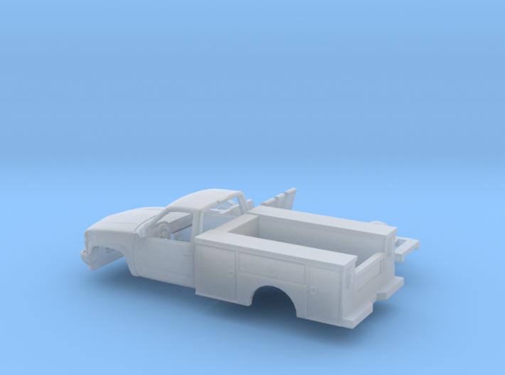 1/87 1990-98 Chevrolet Silverado Reg Cab Utillity 3d printed