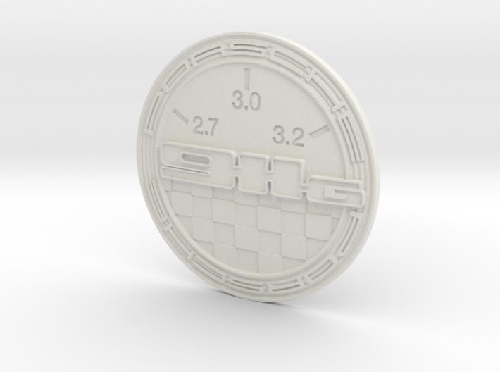 PORSCHE - Hood badge for type G 3d printed