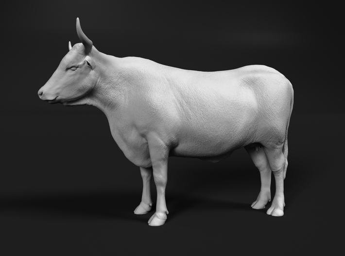 ABBI 1:76 Standing Cow 3d printed