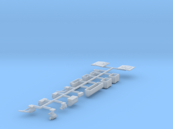 Pullman Underframe Details (Steam Ejector Air Cond 3d printed
