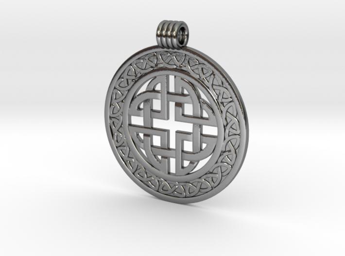 Celticknot_pendant6 3d printed