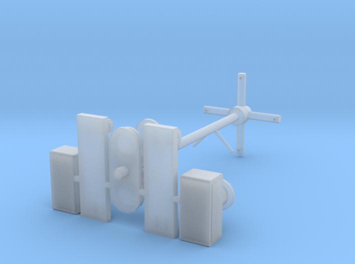 Antennemast Verlenging 3D 3d printed