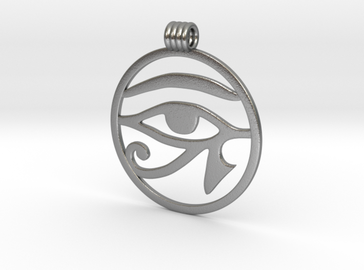 Eye Of Horus Pendant 3d printed