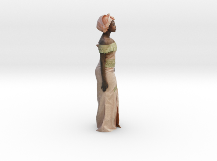 African Woman - Colorful Sculpture 3d printed