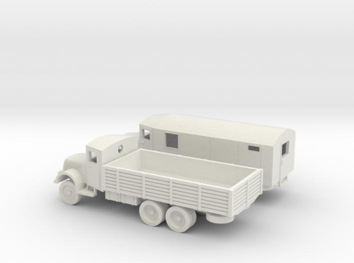 1/144 set of 2 Tatra trucks T111 3d printed
