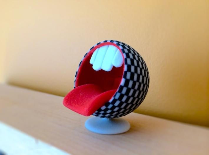 Bubble Chair: Big Mouth (1:24 Scale) 3d printed