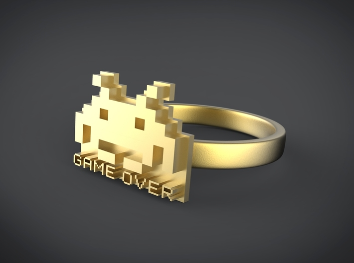 Game Over 3d printed
