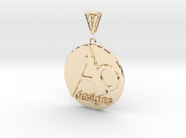 AB Designs Pendant 3d printed
