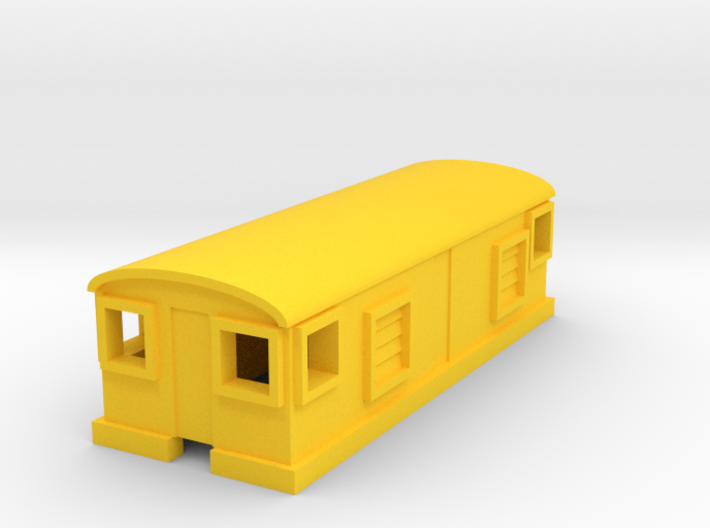 GE Electric Boxcab 3d printed