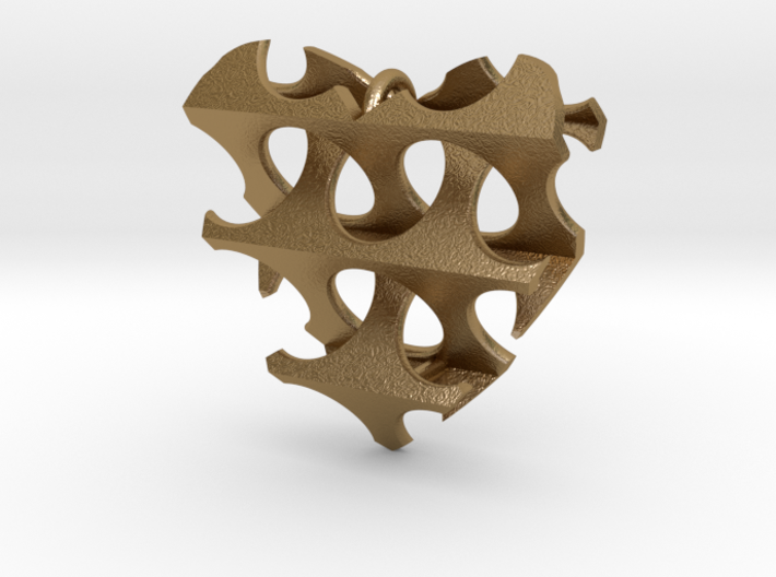 Woven-Heart-02 3d printed