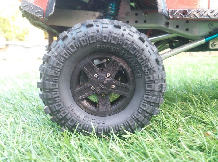 Boost beatlock wheels 1.0, part 4/4 hubcab 3d printed