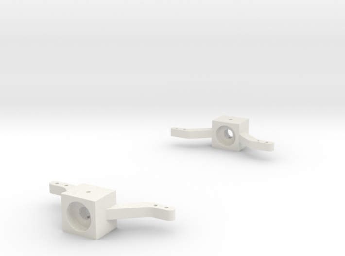 Front-axle-knuckles-set 3d printed