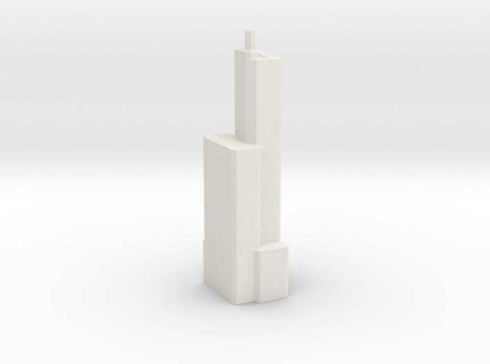 Maastoren - Rotterdam (1:4000) 3d printed