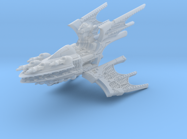 Void Hunter Battleship 3d printed