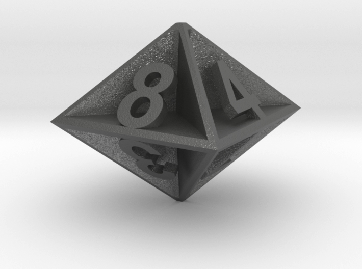 D8 - Plunged Sides 3d printed