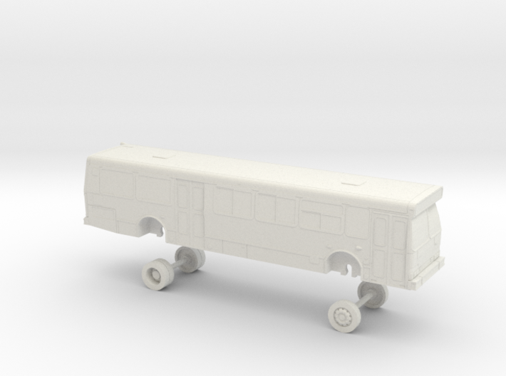 HO Scale Bus Orion V GGT 1500s 3d printed